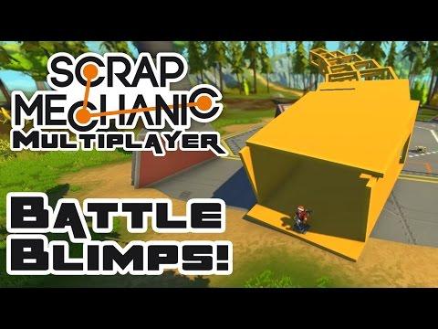Battle Blimps: Make It Wiggle - Let's Play Scrap Mechanic Multiplayer - Part 237