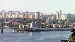 Киев. Панорама города. Panorama of the city.