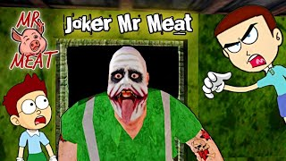 Mr Meat is Joker - Mr.Meat Android Game | Shiva and Kanzo Gameplay