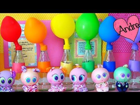Juguetes Distroller - Escuela de Ksi meritos - Aprende colores con globos que se inflan solos