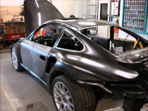 Porsche 911 Turbo S Full Accident Repair