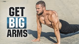 GET BIG ARMS HOME WORKOUT (BICEPS and TRICEPS)