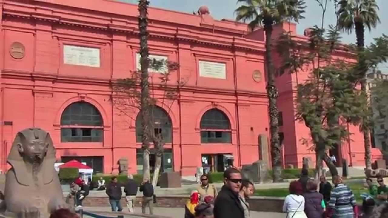 Egyptian Museum Cairo Is Home To An Extensive Collection Of Ancient Egyptian Antiquities