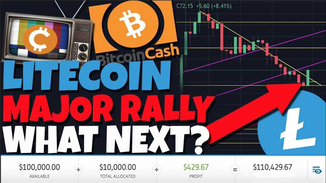 URGENT: Litecoin MAJOR Rally! What To Look For Next (BitcoinCash MAJOR Rally)