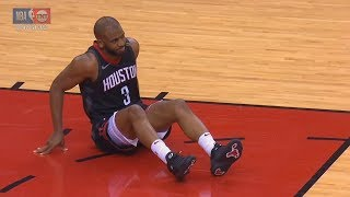 Chris Paul Injury! Warriors vs Rockets Game 5