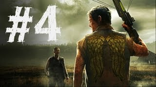 The Walking Dead Survival Instinct Gameplay Walkthrough Part 4 - Find Merle (Video Game)