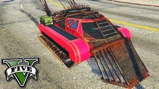 GTA V Online: O NOVO TANQUE DE $5,000,000 que VOA!!! *arena war*
