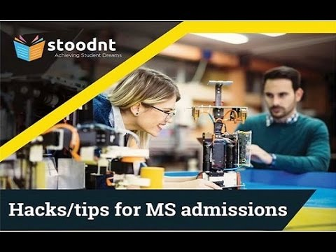 Hacks & Tips for MS Admissions Abroad