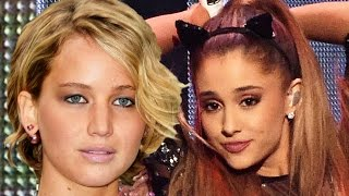 Jennifer Lawrence Reacts To Nude Photo Leak With Ariana Grande