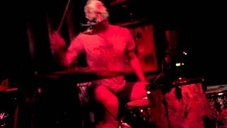 "BLACK PUS - ""Neuronic Knife"" @ Soda Bar. San Diego, CA 5/22/13 (Brian Chippendale of Lightning Bolt)"