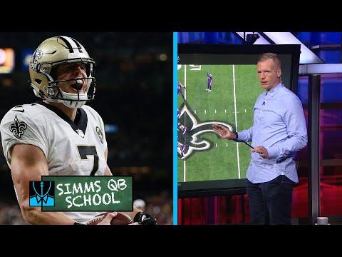 Chris Simms QB School: New Orleans Saints' Taysom Hill | Chris Simms Unbuttoned | NBC Sports