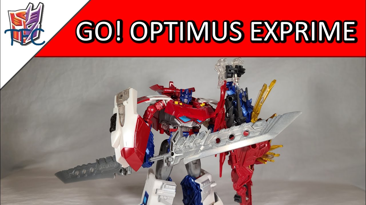 TF Collector Go! Optimus Exprime Review!