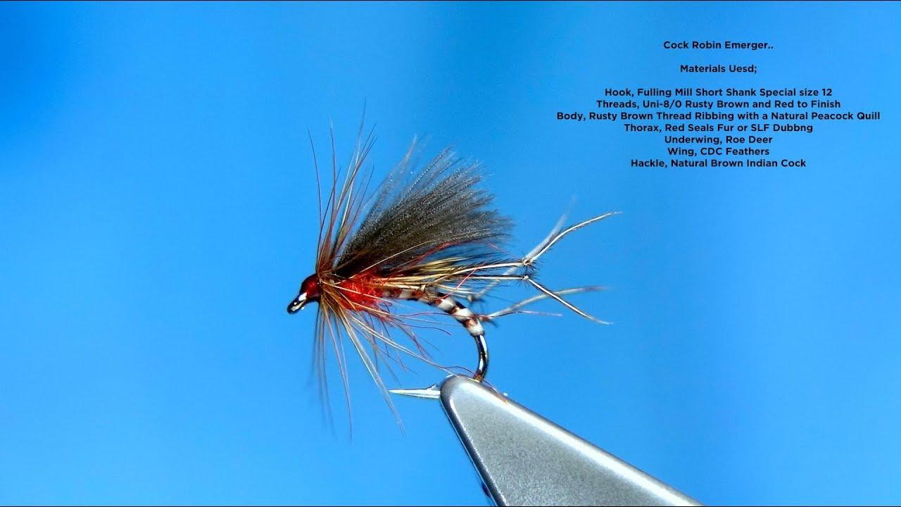 Cock Robin Emerger/Dry | Global FlyFisher