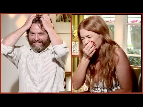 This is why Zach Galifianakis thinks Isla Fisher never got laid...and that naked Instagram selfie