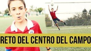 mix de retos de futbol   gol desde el centro del campo   balon de futbol adidas champions league