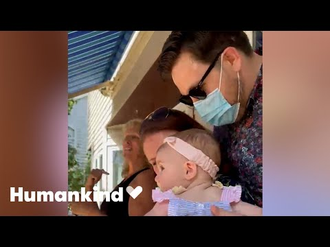 Family and friends learn to sign for baby girl   Humankind