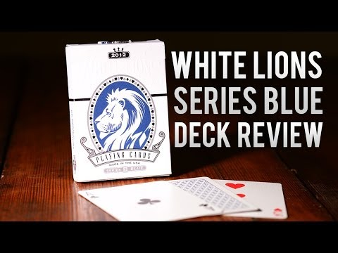Deck Review - White Lions Series B Blue 2nd Edition