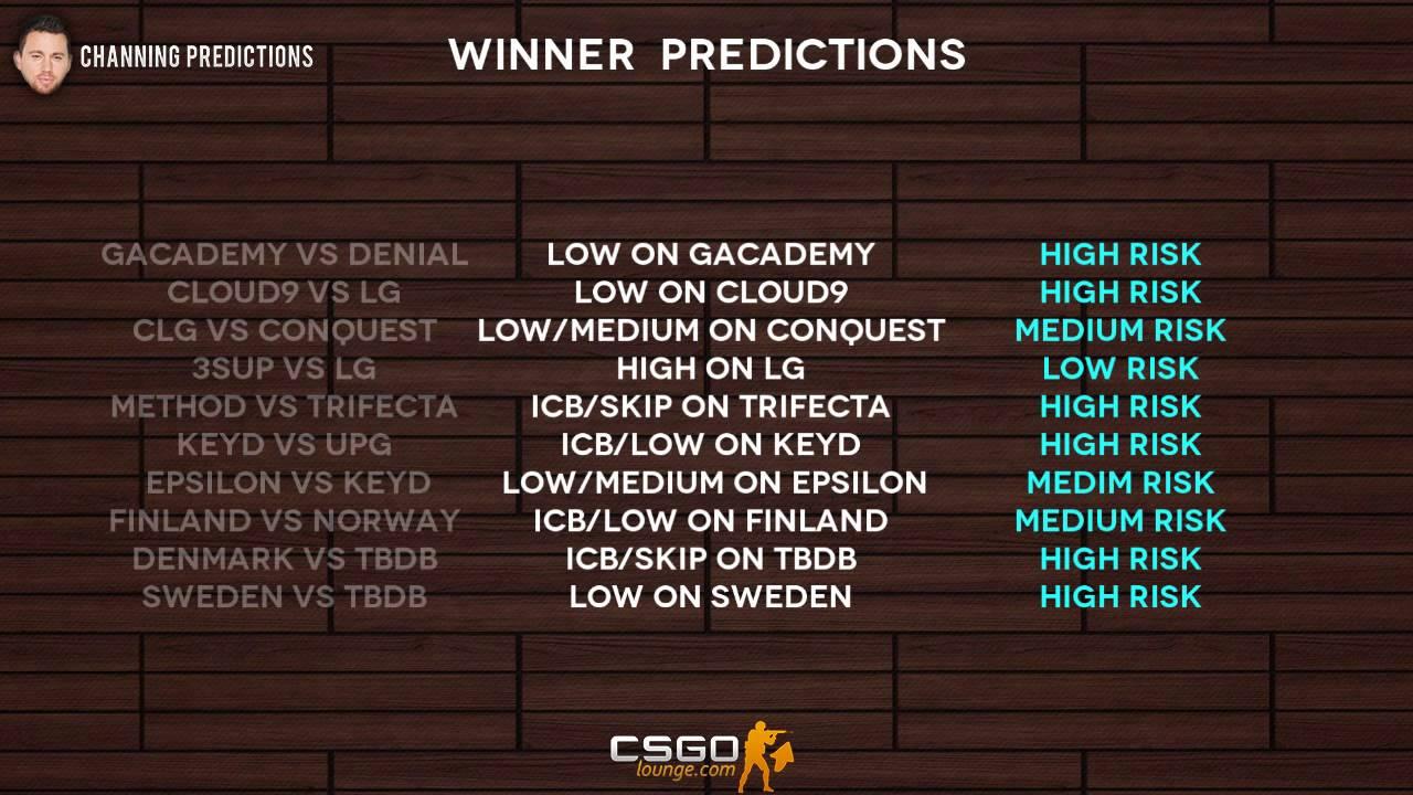 Tbdb csgo betting bettings trends