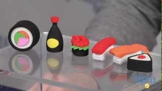 The Write Dudes Scribble Stuff Puzzle Erasers Sushi from MEGA Brands