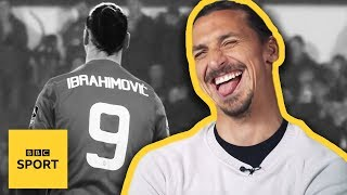 """I made the Premier League look old""- Zlatan Ibrahimovic interview- BBC Sport"