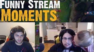 Imaqtpie's MOM   Yassuo TRASHTALKS Imaqtpie!   Sneaky VS Yassuo   LoL Funny Stream Moments