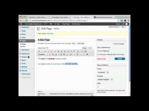 How To Add a Hyperlink To WordPress