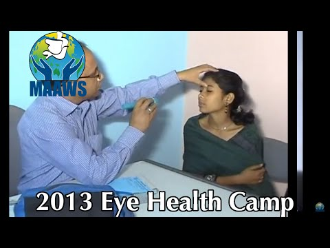 2013 Eye Health Camp | MAAWS Health Complex | MAAWS Bangladesh