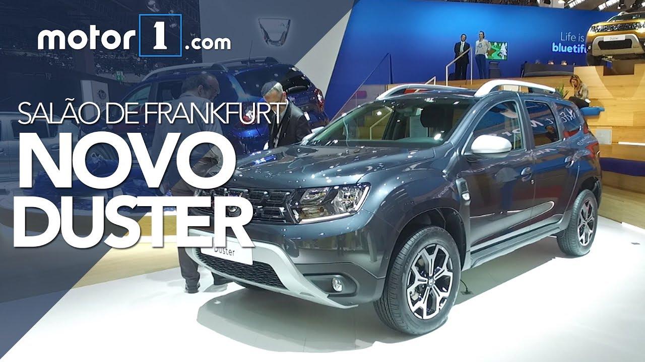Novo Duster 2019 Ao Vivo No Salão De Frankfurt Motor1com Brasil