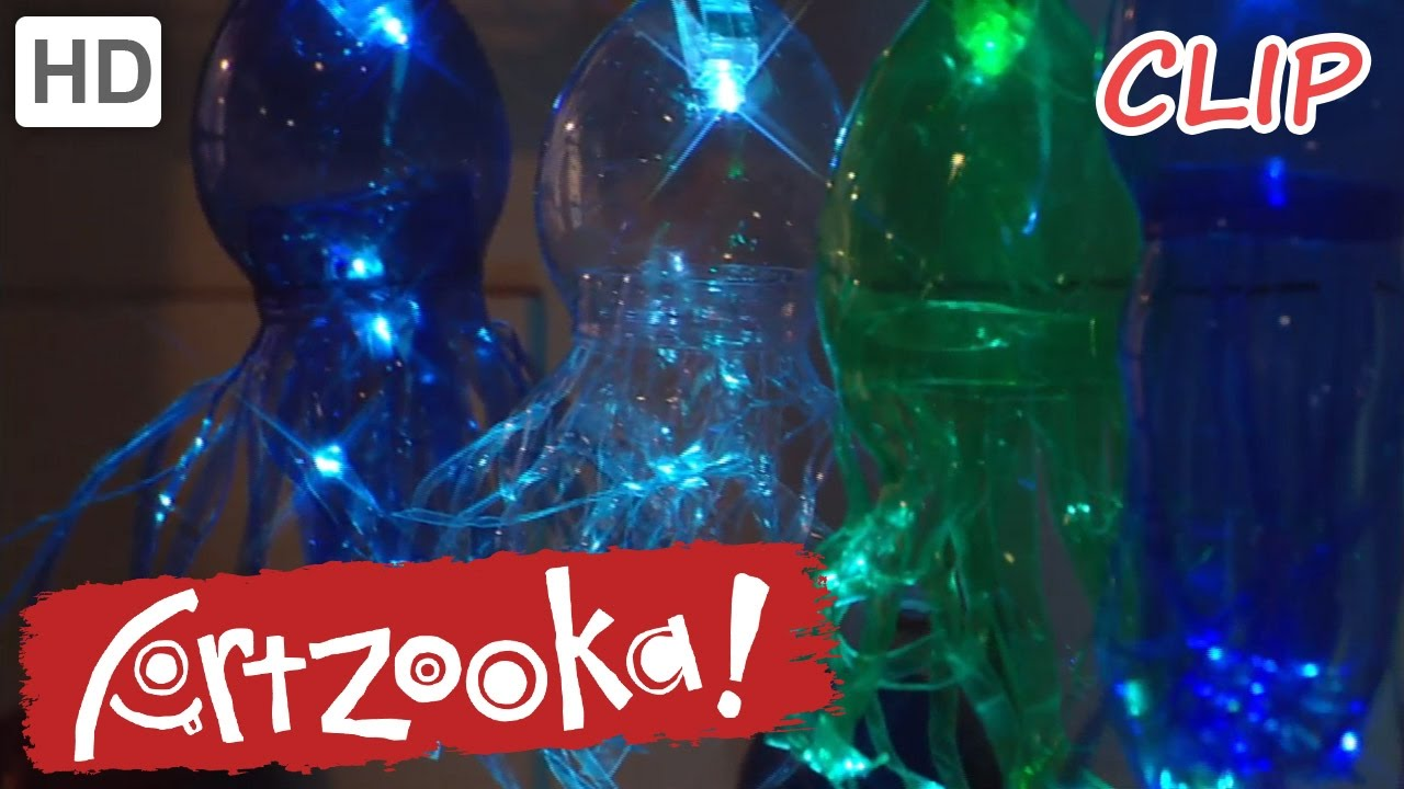 Clip lights for crafts - Artzooka Crafts For Kids Jellyfish Light