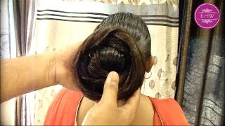 Repeat youtube video Knee Length Heavy oiled Mane Combing & Buning by Male ( Christmas Special)