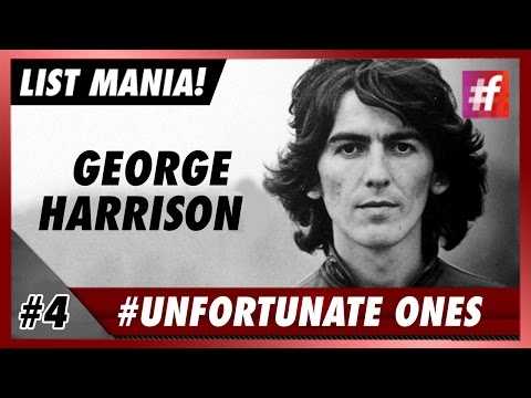 #fame hollywood - George Harrisson - 5 Most Tragic Celeb Stories in History