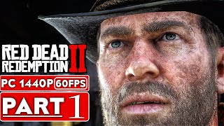 RED DEAD REDEMPTION 2 PC Gameplay Walkthrough Part 1 [1080p HD 1440P PC] - No Commentary