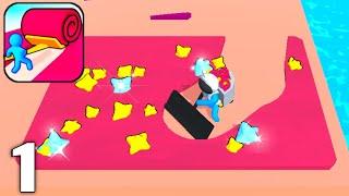 Spiral Craft 3D - Gameplay Walkthrough Part 1 All Levels (Android & iOS) screenshot 2