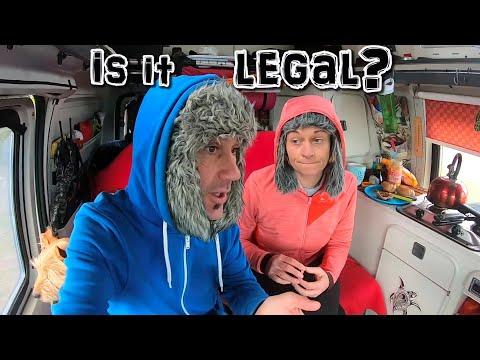 IS IT LEGAL HERE? - VAN LIFE EUROPE - DENMARK