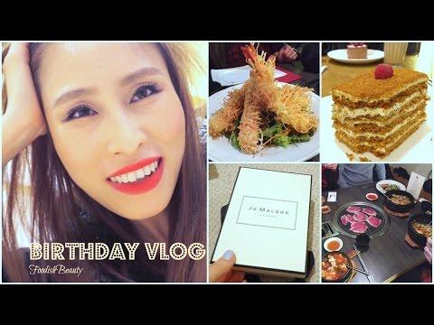 Birthday Week Vlog - Haircut, Haul, Food, London   FoodishBeauty