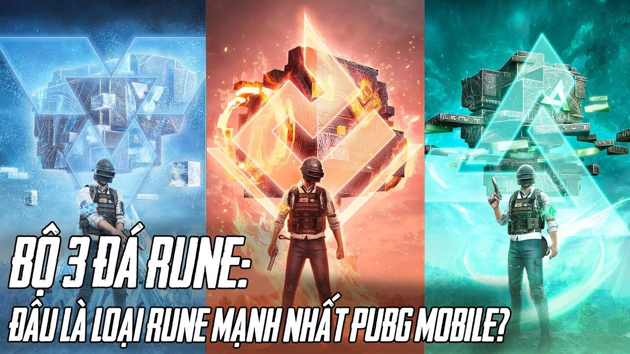 Bí Ẩn Sức Mạnh 3 Loại Đá Rune Trong Bản Cập Nhật PUBG MOBILE 1.2