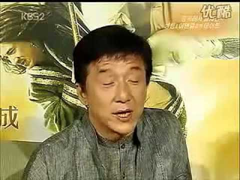功夫之王韩国KBS记者采访成龙、李连杰(no fighting, peace