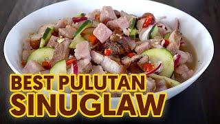 Sinuglaw | Sinugba at Kinilaw | Inihaw na Liempo and Tuna Kilawin Pulutan