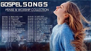 2 Hours Non Stop Worship Songs 2021 With Lyrics - Best 100 Christian Worship Songs  - Gospel Songs