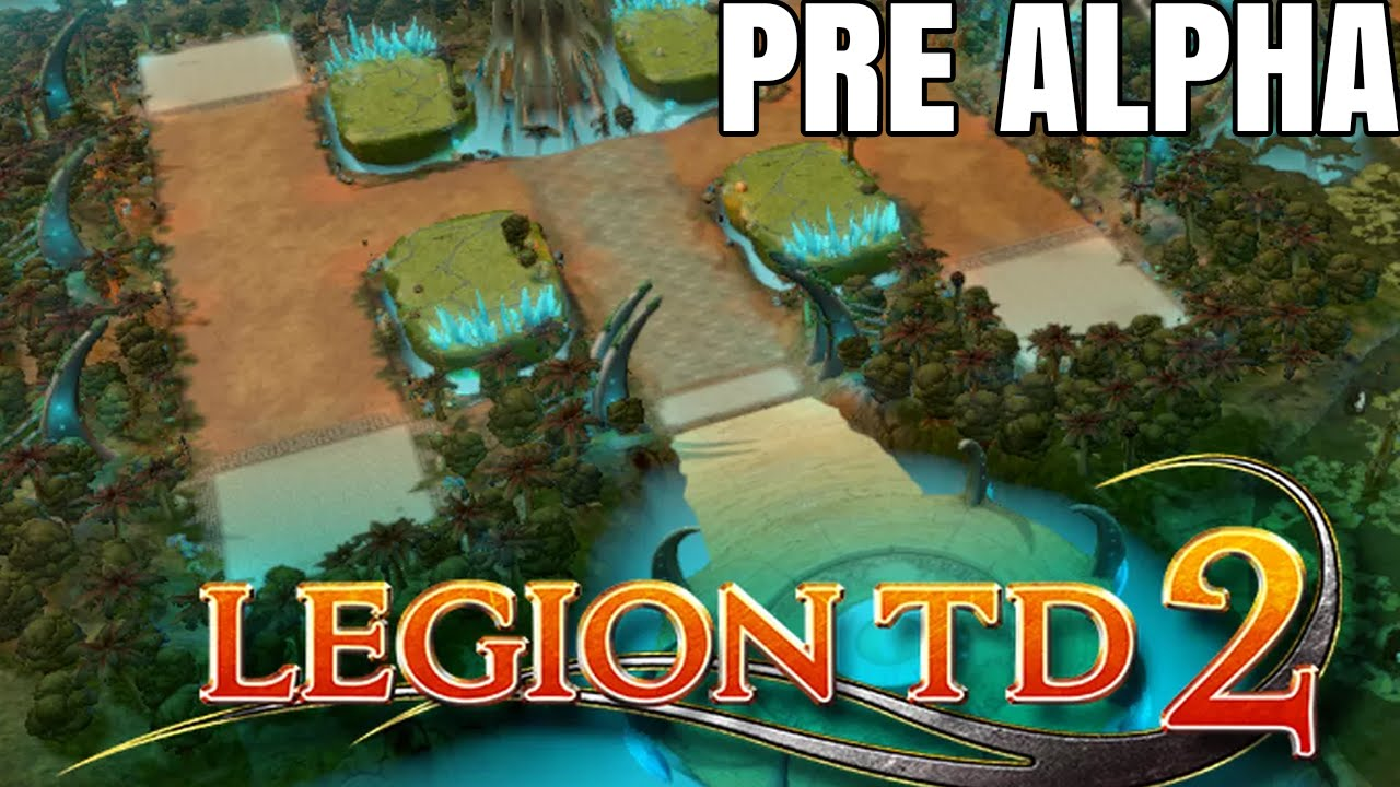 Legion TD 2 Pre Alpha Gameplay