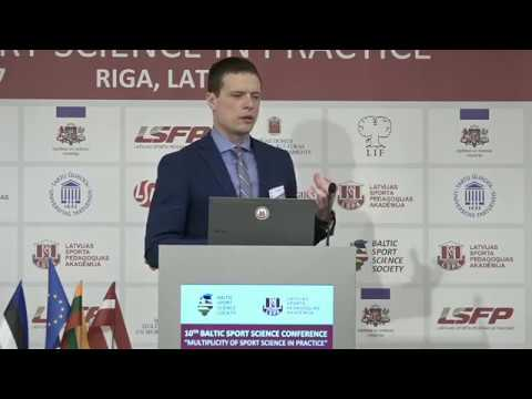 10th Baltic Sports Science Conference/ assoc.prof. Jarek MÄESTU (Estonia)