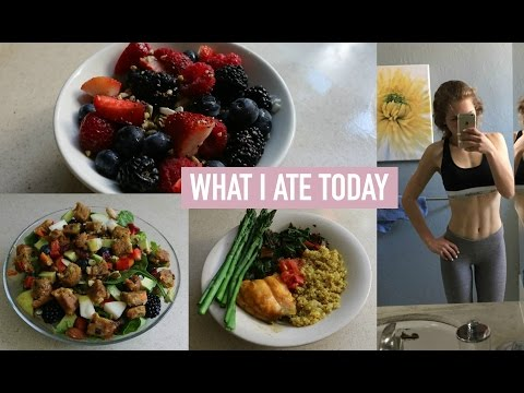 WHAT I EAT IN A DAY 2016! (Easy & Healthy Recipes) | Mel Joy