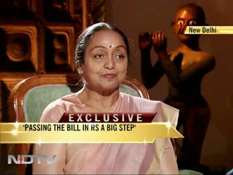 Meira Kumar says she doesn't favour caste census
