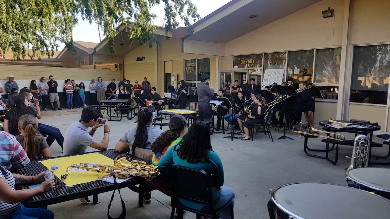 Foothill High School 2017 Jazz Band At The Festival Of The Arts