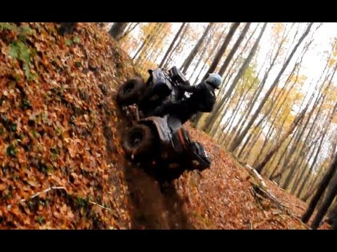 Kawasaki Brute Force 750 vs Yamaha Grizzly 700 drapki atv ride