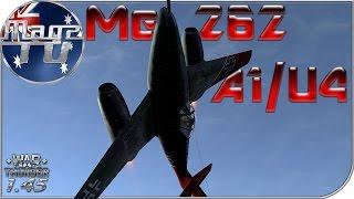 War Thunder - Me 262 A1/U4 - Realistic Battle