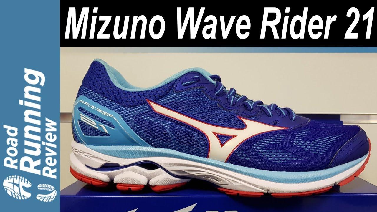 mizuno wave rider 21 drop