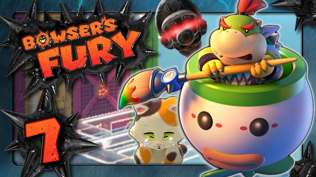 Download BOWSER'S FURY 🐱 #7: Action auf dem Röhrenturm & Luigi-Morgana auf riskanten Röllchen