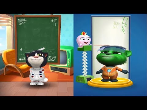 My Talking Tom 1 Vs My Talking Tom 2 New Update  2019 Android Gameplay HD