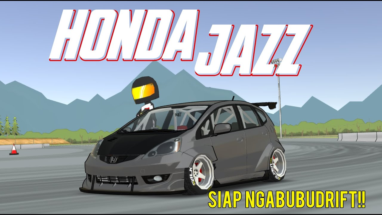 Fr Legends Honda Jazz Rs Review Full Modifikasi Honda Jazz Bodykitnya Keren Parah Cuyy Youtube